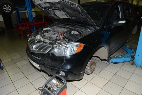 Акура МДХ ремонт двигателей