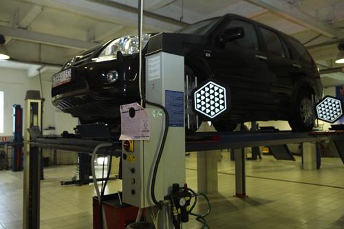 Acura установка сход развала